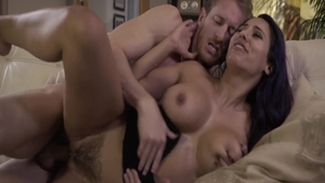 Hard rough sex with busty mature Reena Sky among Ryan Mclane