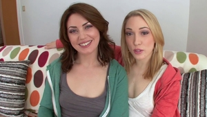 Hard fucking with Sarah Shevon accompanied by Lily Labeau