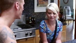 Dani Desire gets a good fucking in the kitchen HD