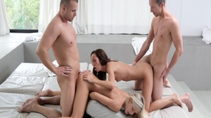 Rough plowing hard escorted by big ass babe Gina Devine