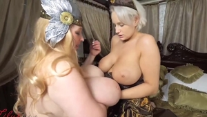 Busty stepmom Angel Wicky hardcore blowjob