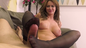 Anal pov sex with hot brunette Emily Addison