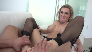 Large tits pornstar Kendra Lust has a taste for pussy fucking