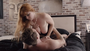 Pornstar Penny Pax in the underwear cumshot