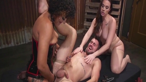 Hard slamming together with filthy stepmom Chanel Preston