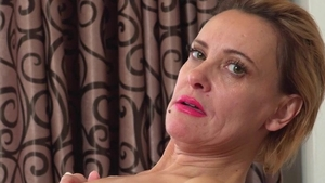 Ejaculation in the company of small boobs stepmom