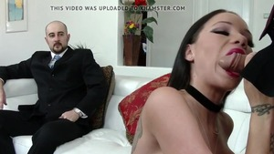 Pussy fucking together with hotwife