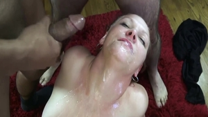 Wild chick rough facial in HD