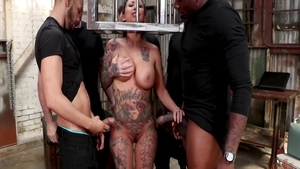 Busty slut Lily Lane goes in for nailed rough