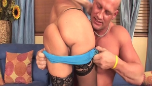 Very hot blonde Cala Craves raw fucked all the way