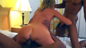 Rough nailing with beautiful stepmom