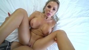 Big tits Nina Elle stepmother pussy fucking video