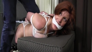 Large tits mature desires tied up