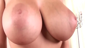 Gianna Michaels in panties close up masturbating