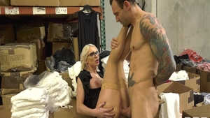 Attractive wife Kenzie Taylor hard ass pounding seduced