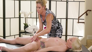 Hard slamming together with India Summer and Elsa Jean