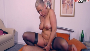 Charming german escort fucked in the ass