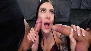 Hottest & young babe Marley Brinx raw ass fucking