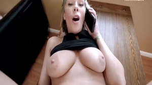 Big tits stepmom has a thing for cock sucking