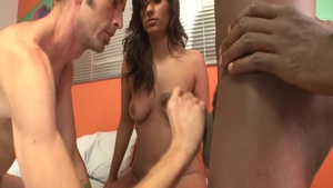 Hard nailining along with stallion Reena Sky