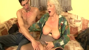 Hungarian Granny Norma pussy fucking in HD