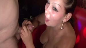 Hungarian pussy fucking at the party