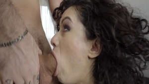 Super sexy brunette Stacy Bloom feels up to plowing hard