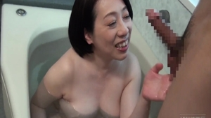 Asian MILF gets rough real fucking