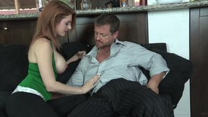 Naughty Lilith Lust & Eric Masterson raw blowjobs