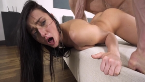 Cock sucking sex scene next to dirty private Katy Rose