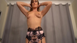 Femdom sex tape along with horny fetish Honour May