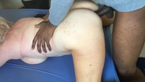 British amateur need gets nailed rough HD