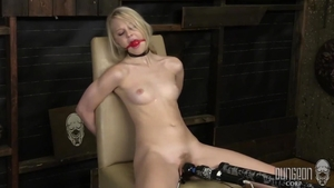 Blonde haired Lily Rader toys
