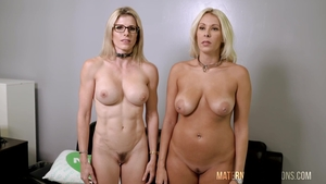 Cory Chase among big boobs Nikki Brooks