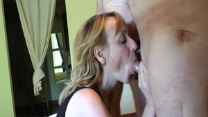 Charming french blonde wishes art hard nailining HD