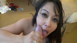 Plowing hard with passionate supermodel Mika Tan