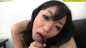 Big tits asian mature bends to get fucked in HD