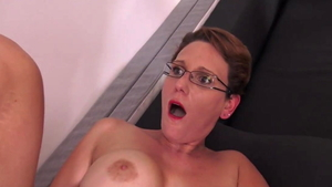 Sleeping rough nailing in company with erotic mature Sandy Lou