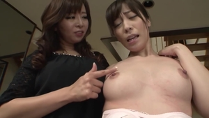 Large tits mature in HD