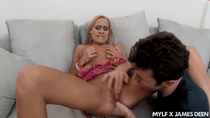 Hairy MILF hard ass fucking at casting