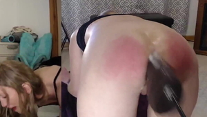 European amateur pissing on webcam in HD