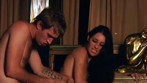 Girl Jess West rides a hard dick