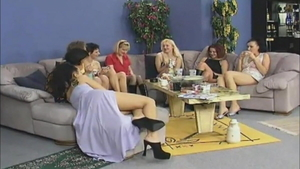 Orgy at the party hot german