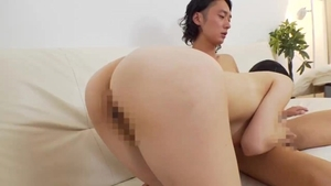 Huge boobs japanese MILF feels up to the best sex in HD