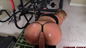 Very hot stepsister ass fucked