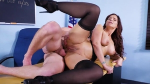 Syren De Mer enjoys hard slamming