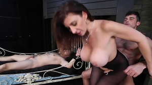 Sara Jay got her pussy pounded sex video