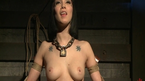 Passionate supermodel BDSM in HD
