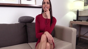 Perfect chick pussy fuck at the castings HD