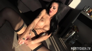 Skyler Mckay playing with sex toys sex video